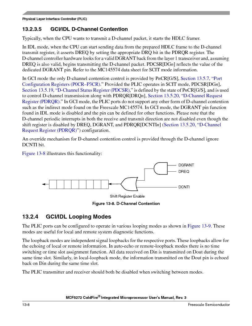 MCF5272VF66R2 ,Freescale Semiconductor厂商,IC MCU 32BIT 66MHZ 196-MAPBGA, MCF5272VF66R2 datasheet预览  第304页