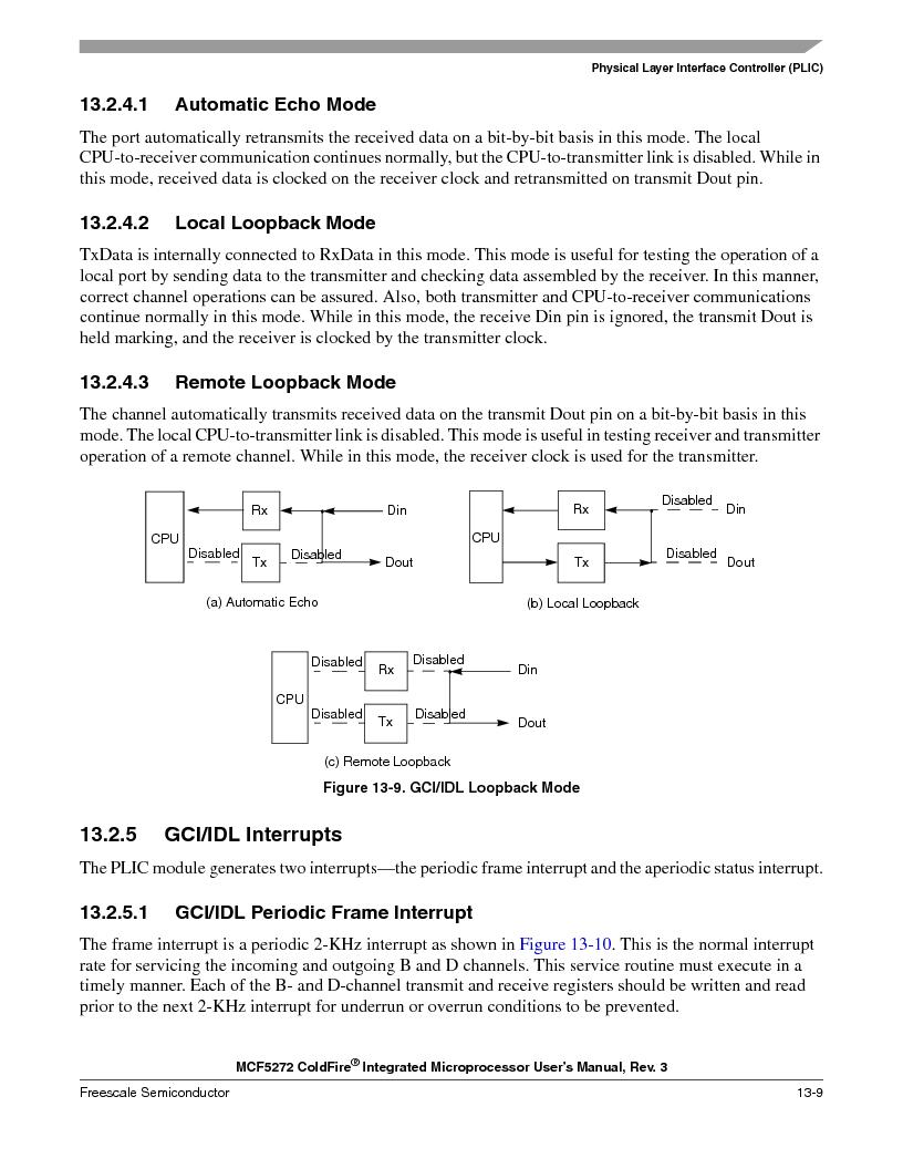 MCF5272VF66R2 ,Freescale Semiconductor厂商,IC MCU 32BIT 66MHZ 196-MAPBGA, MCF5272VF66R2 datasheet预览  第305页