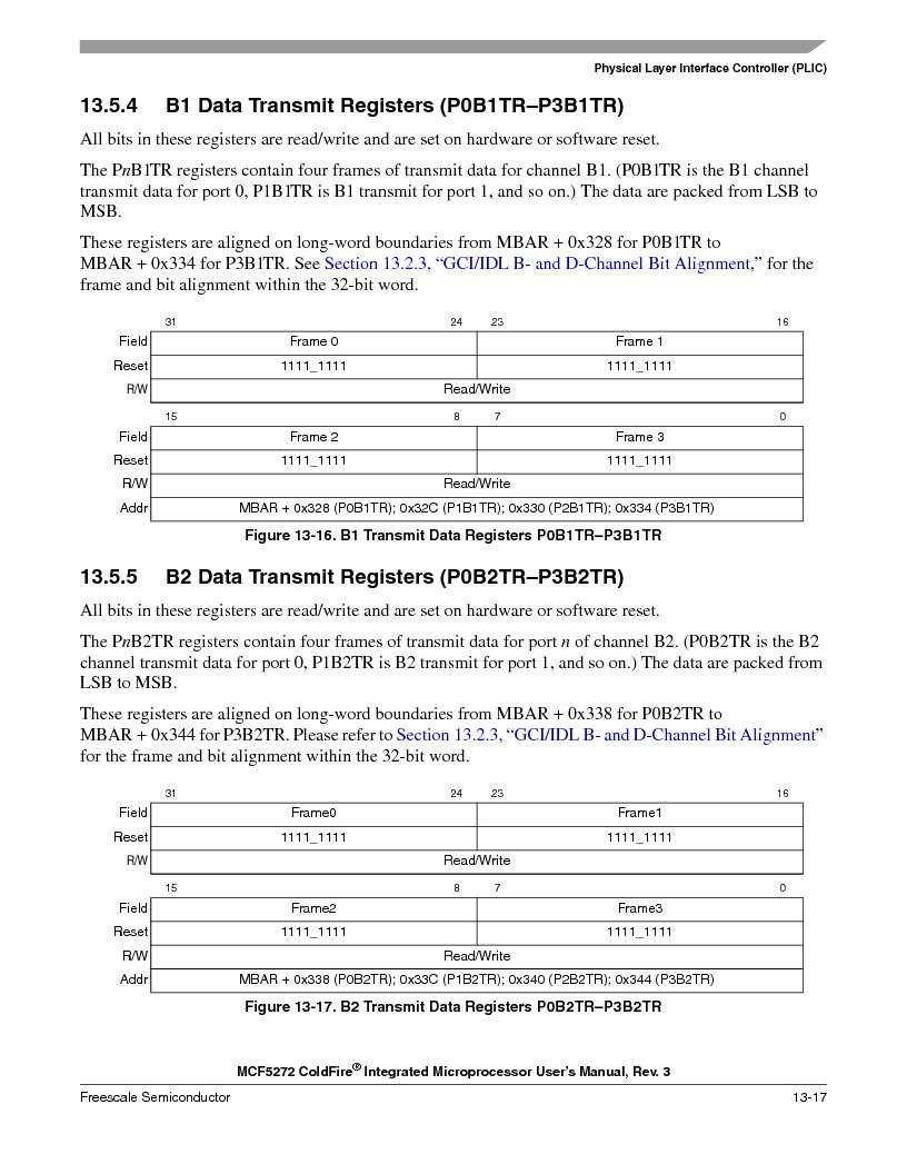 MCF5272VF66R2 ,Freescale Semiconductor厂商,IC MCU 32BIT 66MHZ 196-MAPBGA, MCF5272VF66R2 datasheet预览  第313页