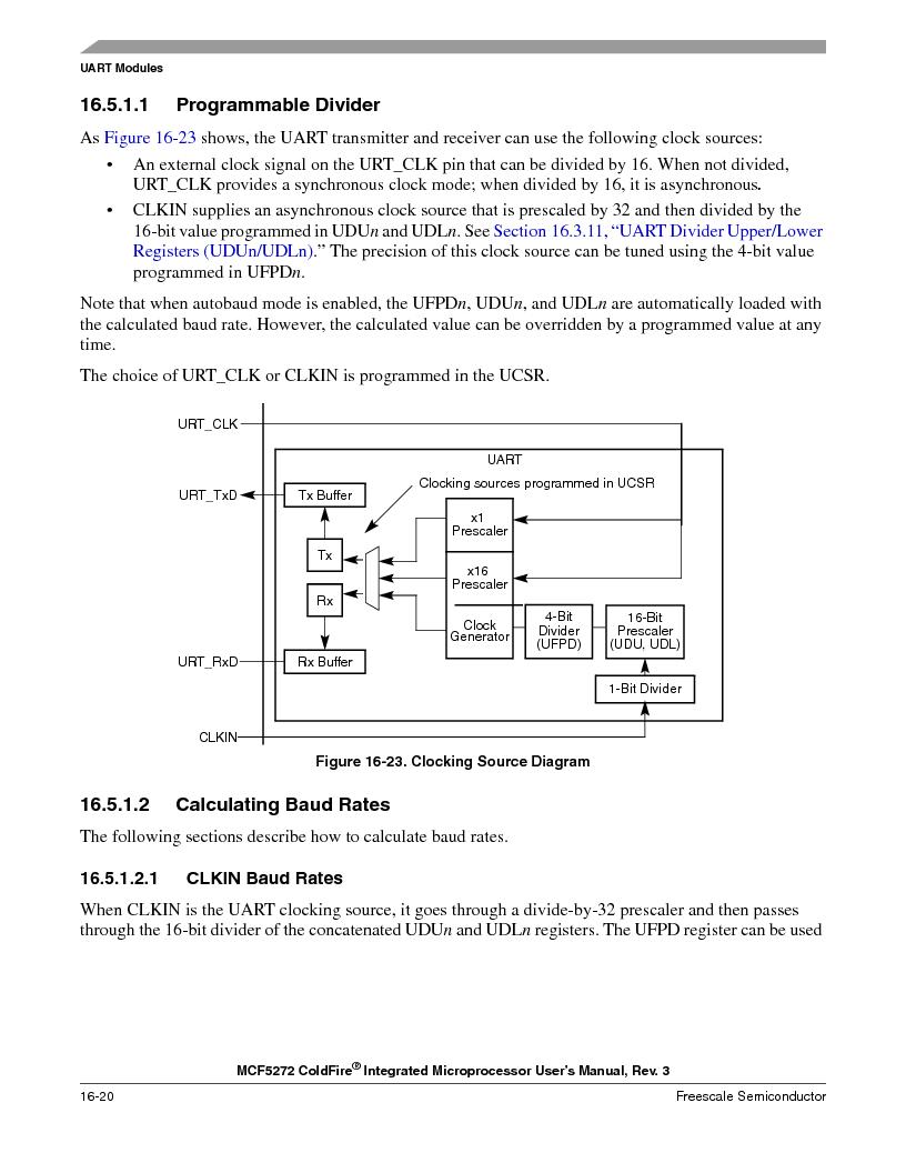 MCF5272VF66R2 ,Freescale Semiconductor厂商,IC MCU 32BIT 66MHZ 196-MAPBGA, MCF5272VF66R2 datasheet预览  第380页