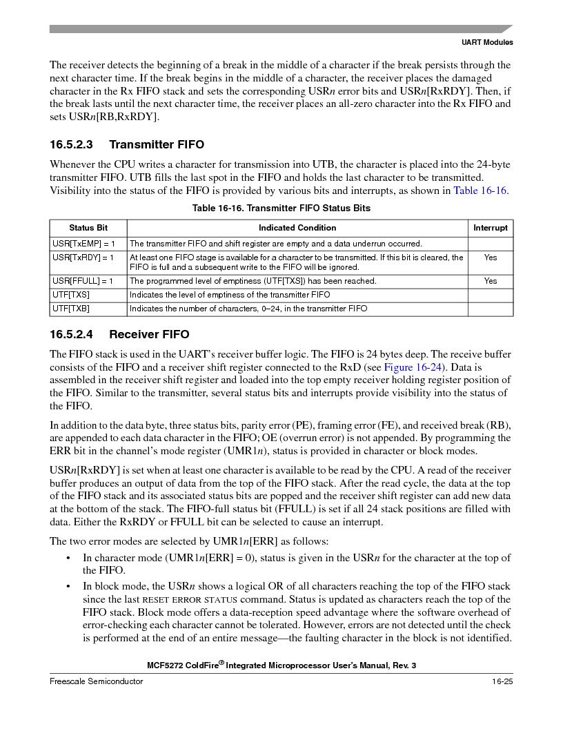 MCF5272VF66R2 ,Freescale Semiconductor厂商,IC MCU 32BIT 66MHZ 196-MAPBGA, MCF5272VF66R2 datasheet预览  第385页