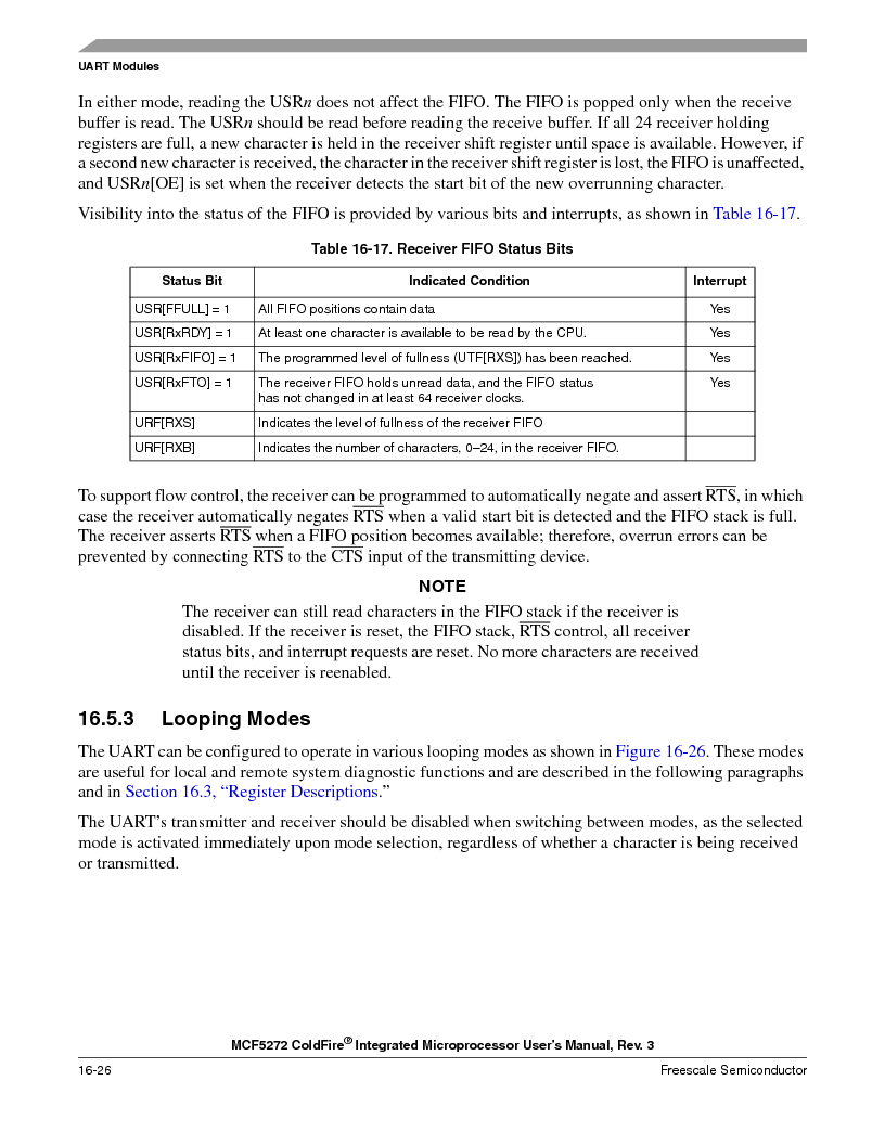 MCF5272VF66R2 ,Freescale Semiconductor厂商,IC MCU 32BIT 66MHZ 196-MAPBGA, MCF5272VF66R2 datasheet预览  第386页