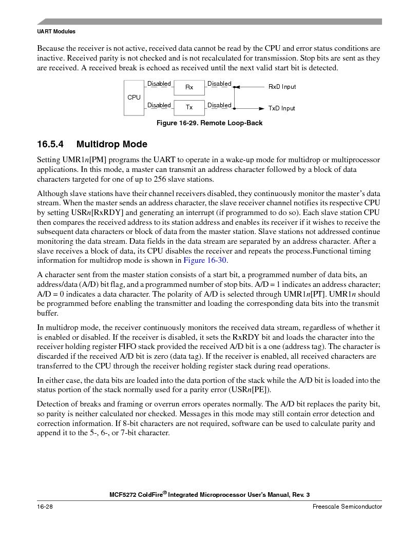 MCF5272VF66R2 ,Freescale Semiconductor厂商,IC MCU 32BIT 66MHZ 196-MAPBGA, MCF5272VF66R2 datasheet预览  第388页