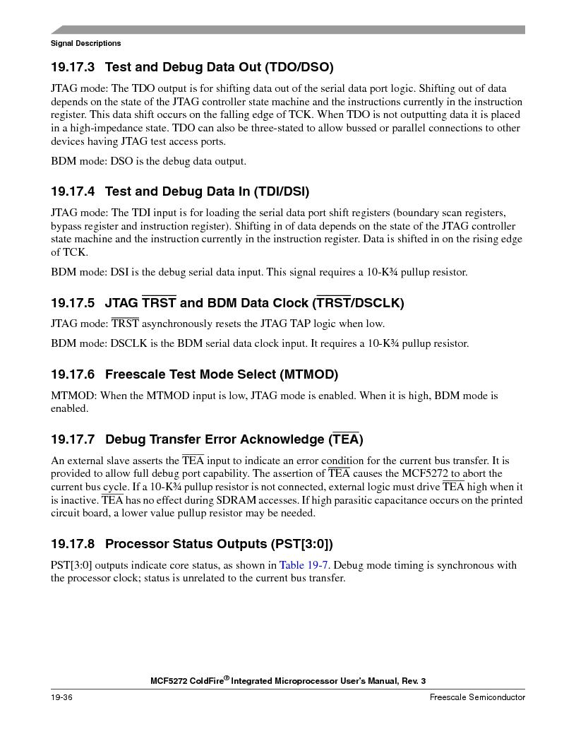 MCF5272VF66R2 ,Freescale Semiconductor厂商,IC MCU 32BIT 66MHZ 196-MAPBGA, MCF5272VF66R2 datasheet预览  第446页