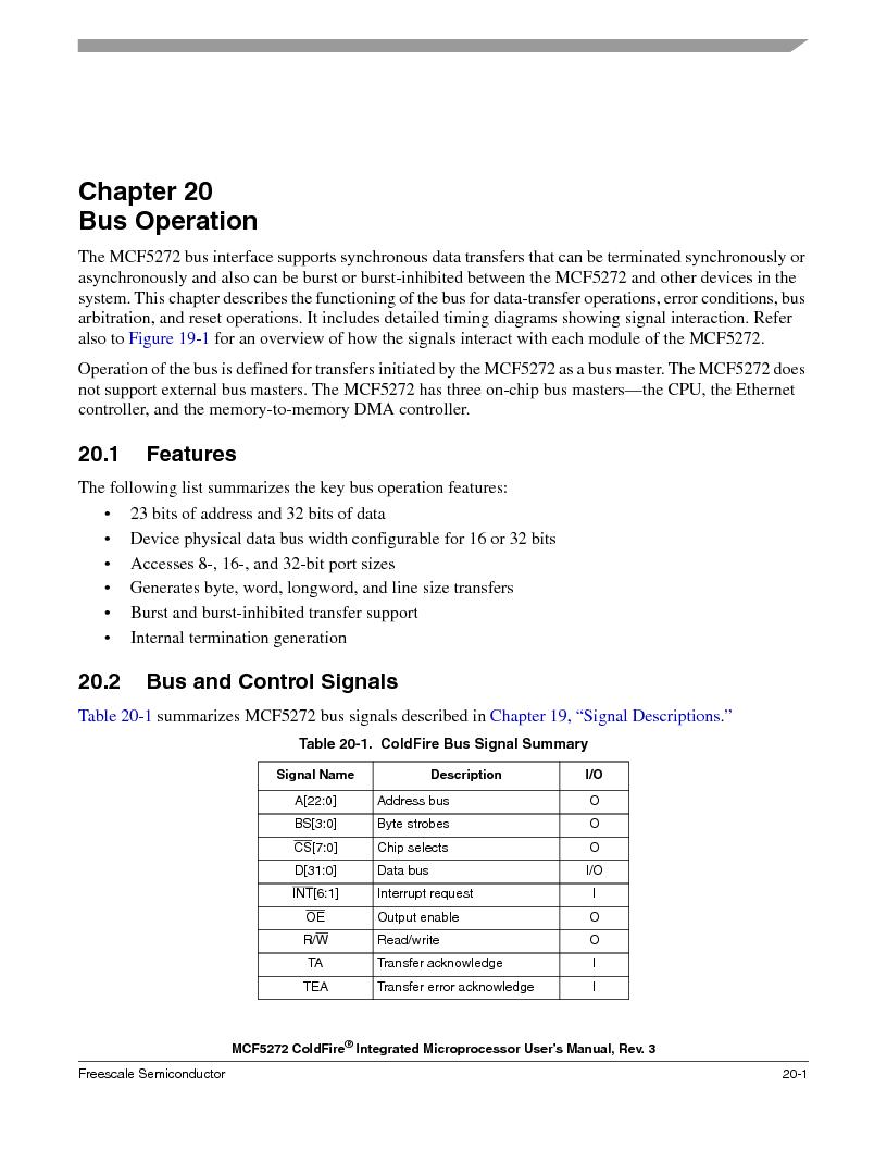 MCF5272VF66R2 ,Freescale Semiconductor厂商,IC MCU 32BIT 66MHZ 196-MAPBGA, MCF5272VF66R2 datasheet预览  第449页