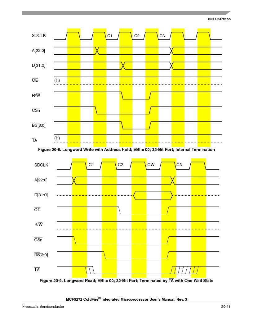 MCF5272VF66R2 ,Freescale Semiconductor厂商,IC MCU 32BIT 66MHZ 196-MAPBGA, MCF5272VF66R2 datasheet预览  第459页