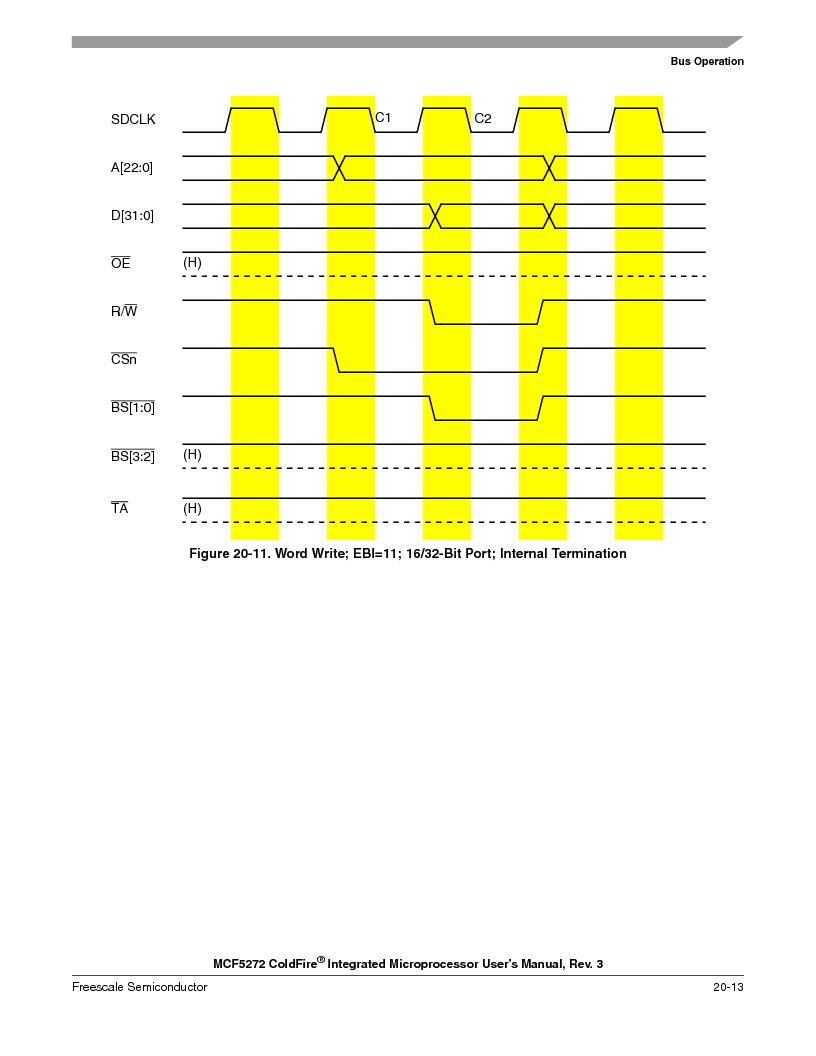 MCF5272VF66R2 ,Freescale Semiconductor厂商,IC MCU 32BIT 66MHZ 196-MAPBGA, MCF5272VF66R2 datasheet预览  第461页