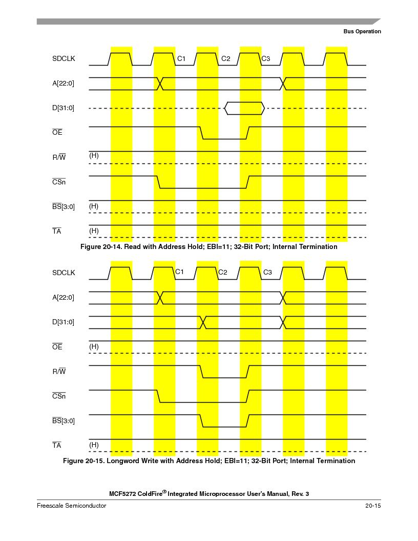 MCF5272VF66R2 ,Freescale Semiconductor厂商,IC MCU 32BIT 66MHZ 196-MAPBGA, MCF5272VF66R2 datasheet预览  第463页