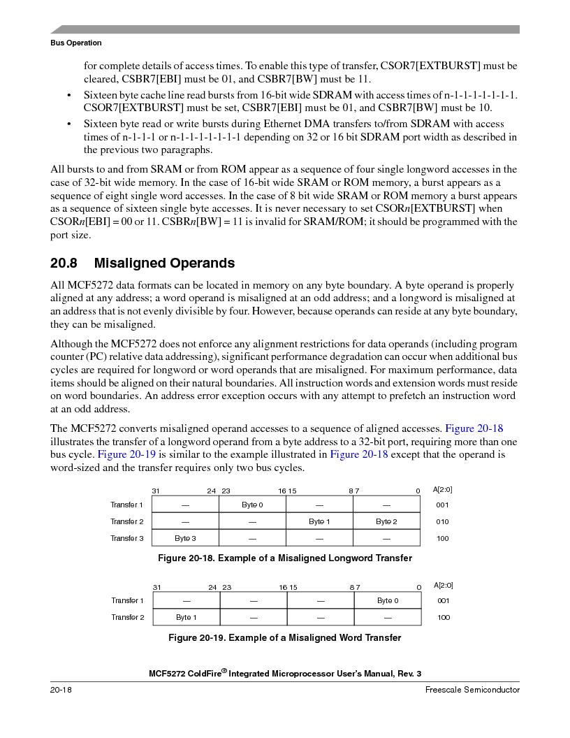 MCF5272VF66R2 ,Freescale Semiconductor厂商,IC MCU 32BIT 66MHZ 196-MAPBGA, MCF5272VF66R2 datasheet预览  第466页