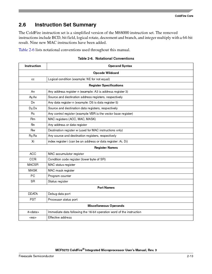 MCF5272VF66R2 ,Freescale Semiconductor厂商,IC MCU 32BIT 66MHZ 196-MAPBGA, MCF5272VF66R2 datasheet预览  第81页