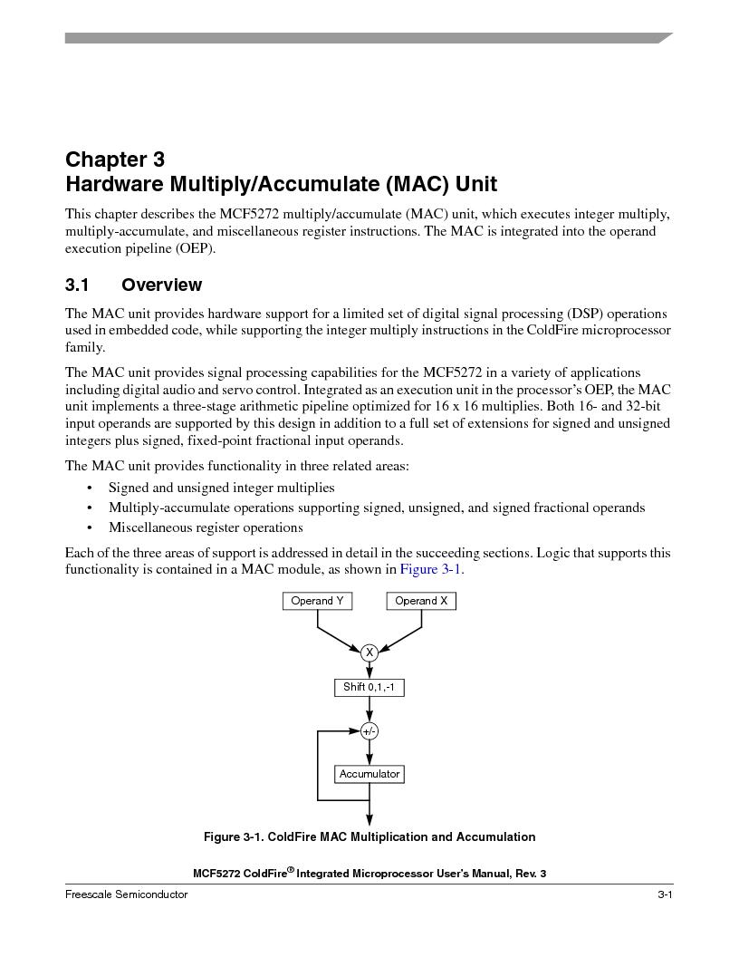 MCF5272VF66R2 ,Freescale Semiconductor厂商,IC MCU 32BIT 66MHZ 196-MAPBGA, MCF5272VF66R2 datasheet预览  第99页