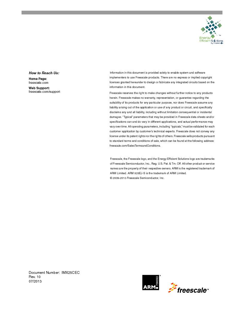 MCIMX253CVM4 ,Freescale Semiconductor厂商,IC MPU I.MX25 IND 400MAPBGA, MCIMX253CVM4 datasheet预览  第153页