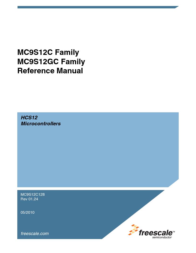 MC9S12GC96VFUE ,Freescale Semiconductor厂商,IC MCU 96K FLASH 25MHZ 80-QFP, MC9S12GC96VFUE datasheet预览  第1页
