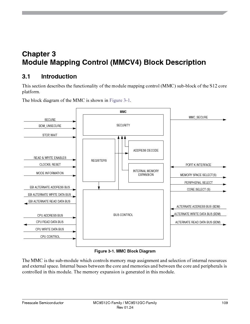 MC9S12GC96VFUE ,Freescale Semiconductor厂商,IC MCU 96K FLASH 25MHZ 80-QFP, MC9S12GC96VFUE datasheet预览  第109页