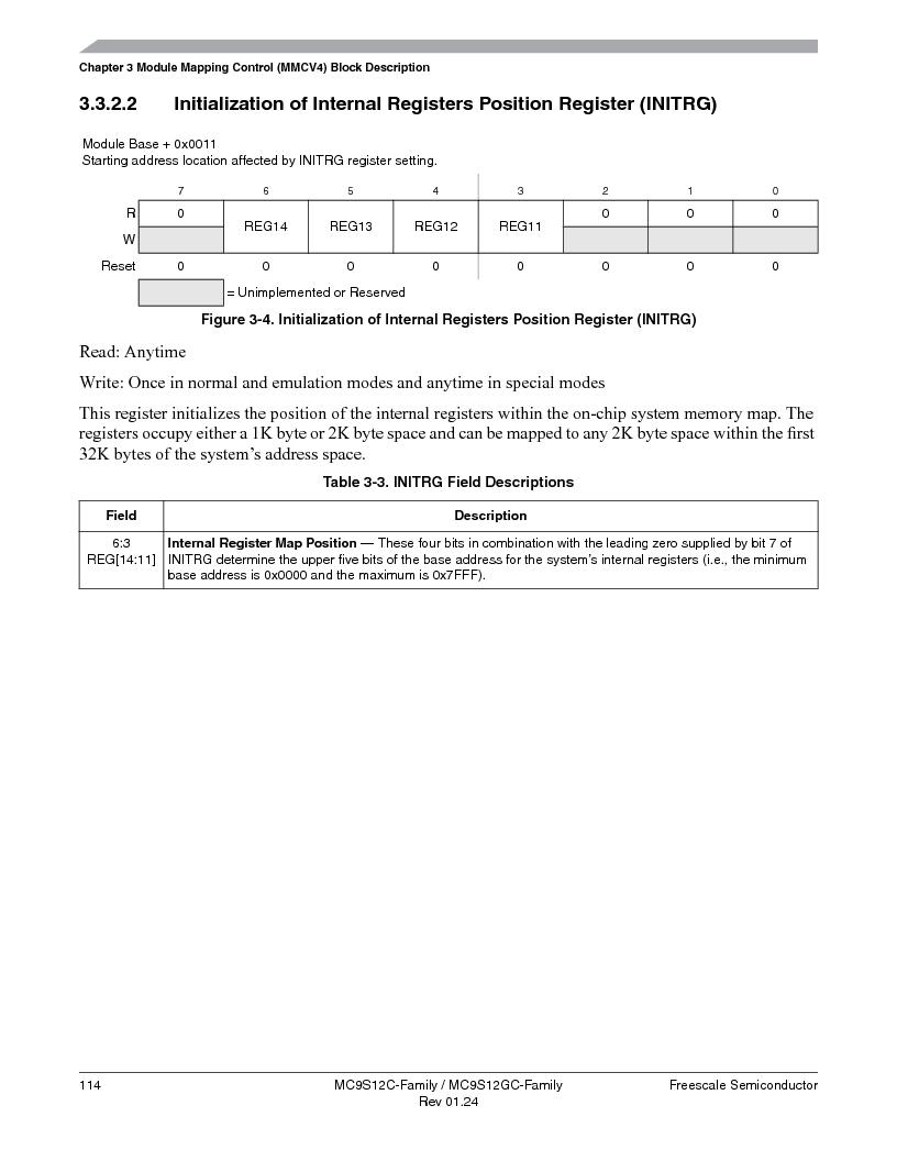MC9S12GC96VFUE ,Freescale Semiconductor厂商,IC MCU 96K FLASH 25MHZ 80-QFP, MC9S12GC96VFUE datasheet预览  第114页