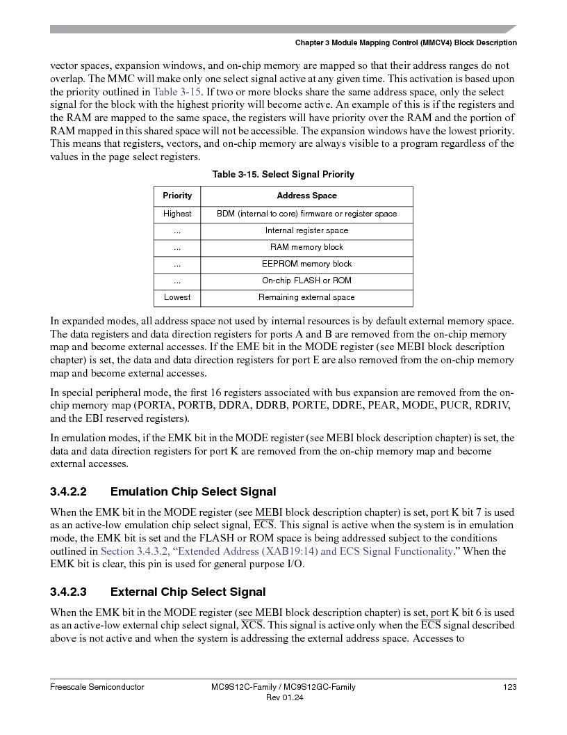 MC9S12GC96VFUE ,Freescale Semiconductor厂商,IC MCU 96K FLASH 25MHZ 80-QFP, MC9S12GC96VFUE datasheet预览  第123页