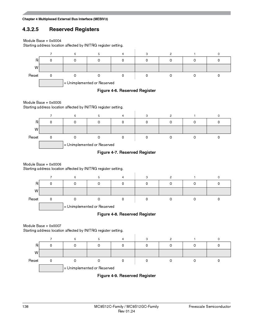 MC9S12GC96VFUE ,Freescale Semiconductor厂商,IC MCU 96K FLASH 25MHZ 80-QFP, MC9S12GC96VFUE datasheet预览  第138页