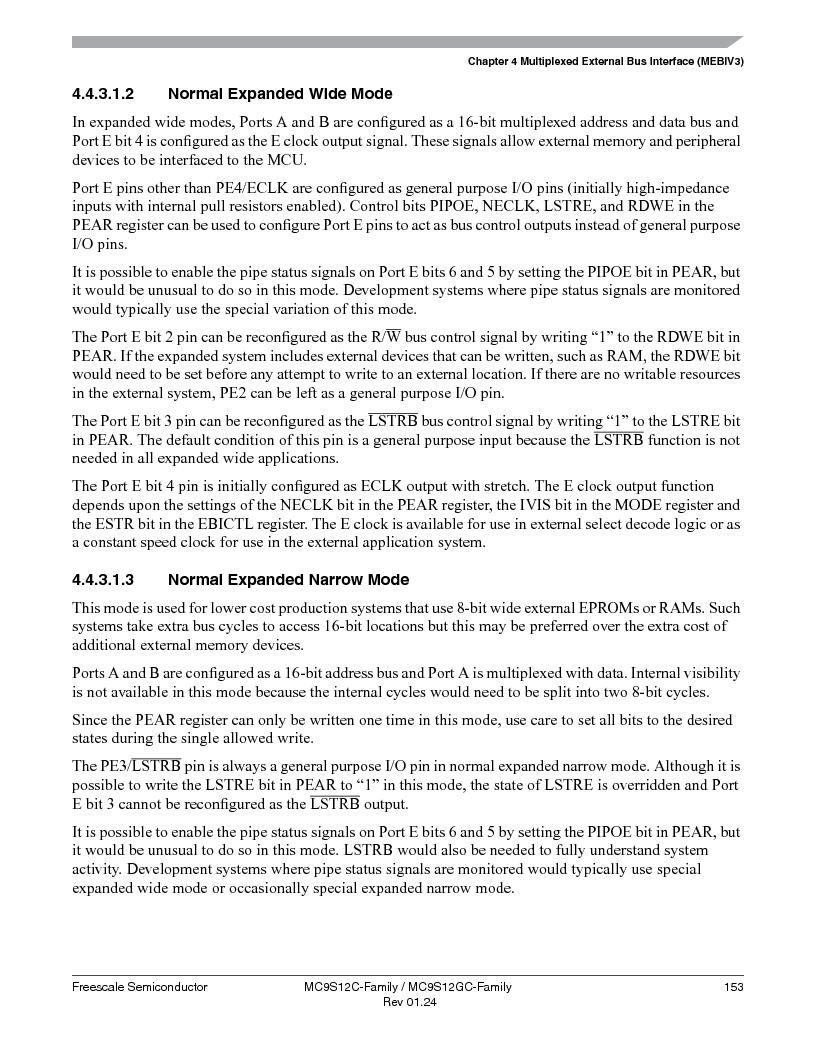 MC9S12GC96VFUE ,Freescale Semiconductor厂商,IC MCU 96K FLASH 25MHZ 80-QFP, MC9S12GC96VFUE datasheet预览  第153页