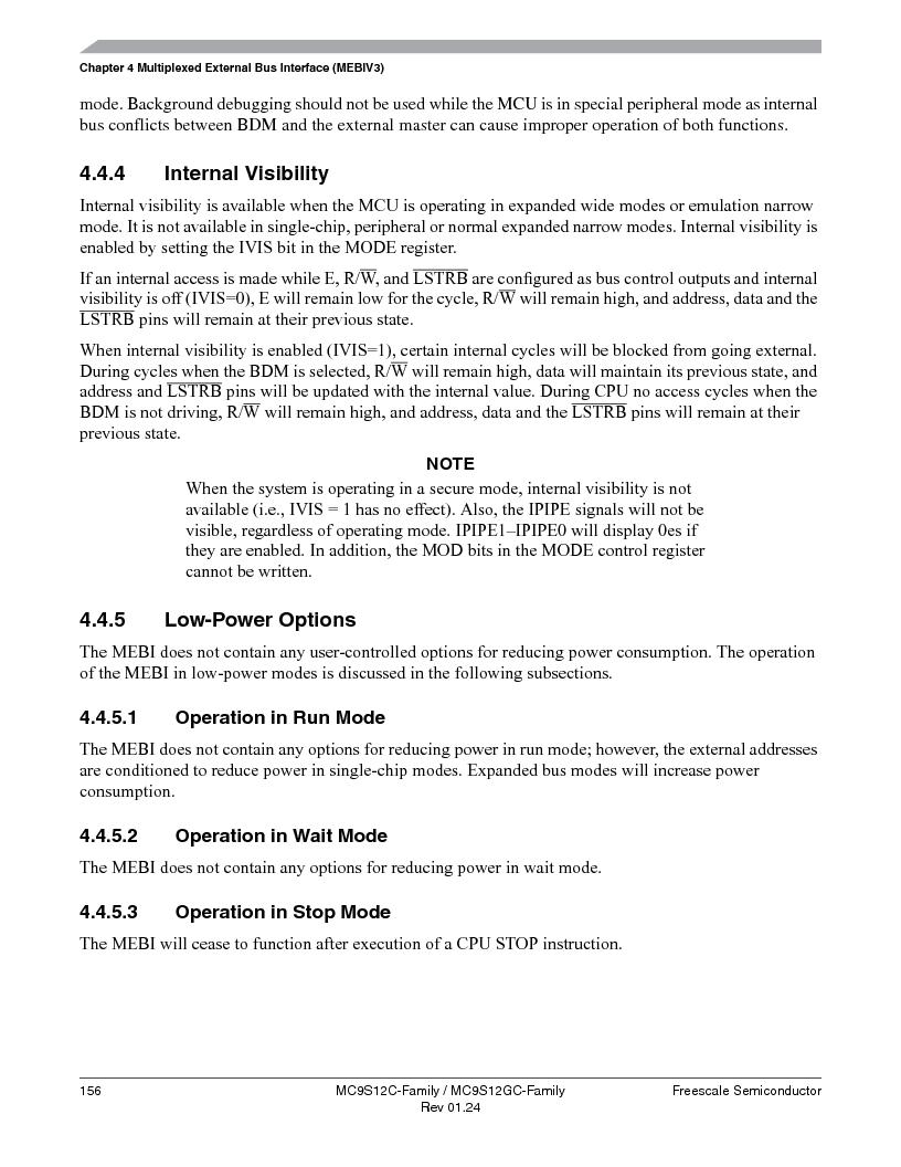 MC9S12GC96VFUE ,Freescale Semiconductor厂商,IC MCU 96K FLASH 25MHZ 80-QFP, MC9S12GC96VFUE datasheet预览  第156页