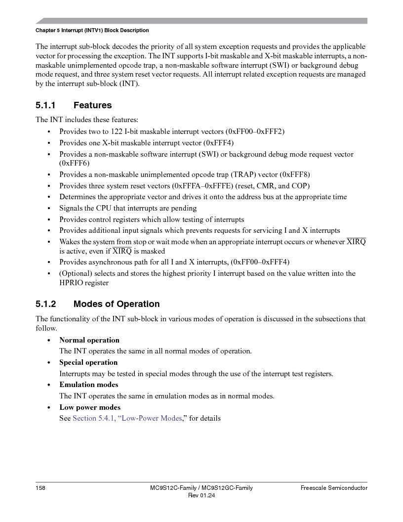 MC9S12GC96VFUE ,Freescale Semiconductor厂商,IC MCU 96K FLASH 25MHZ 80-QFP, MC9S12GC96VFUE datasheet预览  第158页