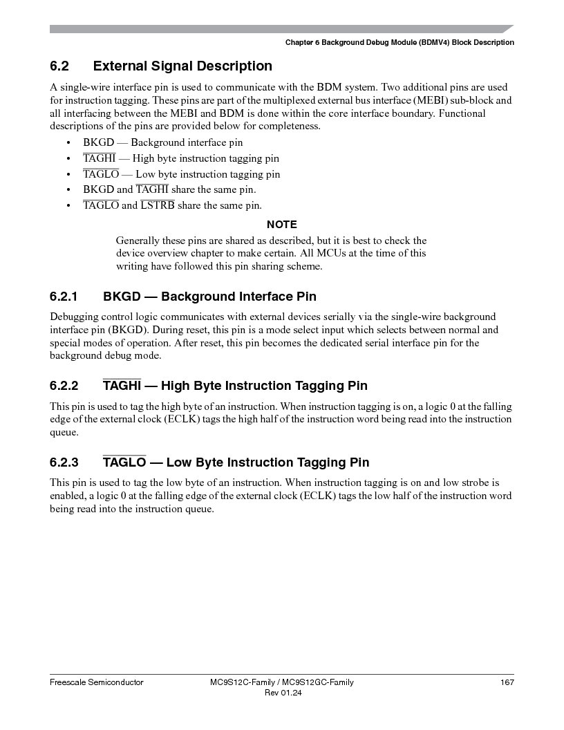 MC9S12GC96VFUE ,Freescale Semiconductor厂商,IC MCU 96K FLASH 25MHZ 80-QFP, MC9S12GC96VFUE datasheet预览  第167页