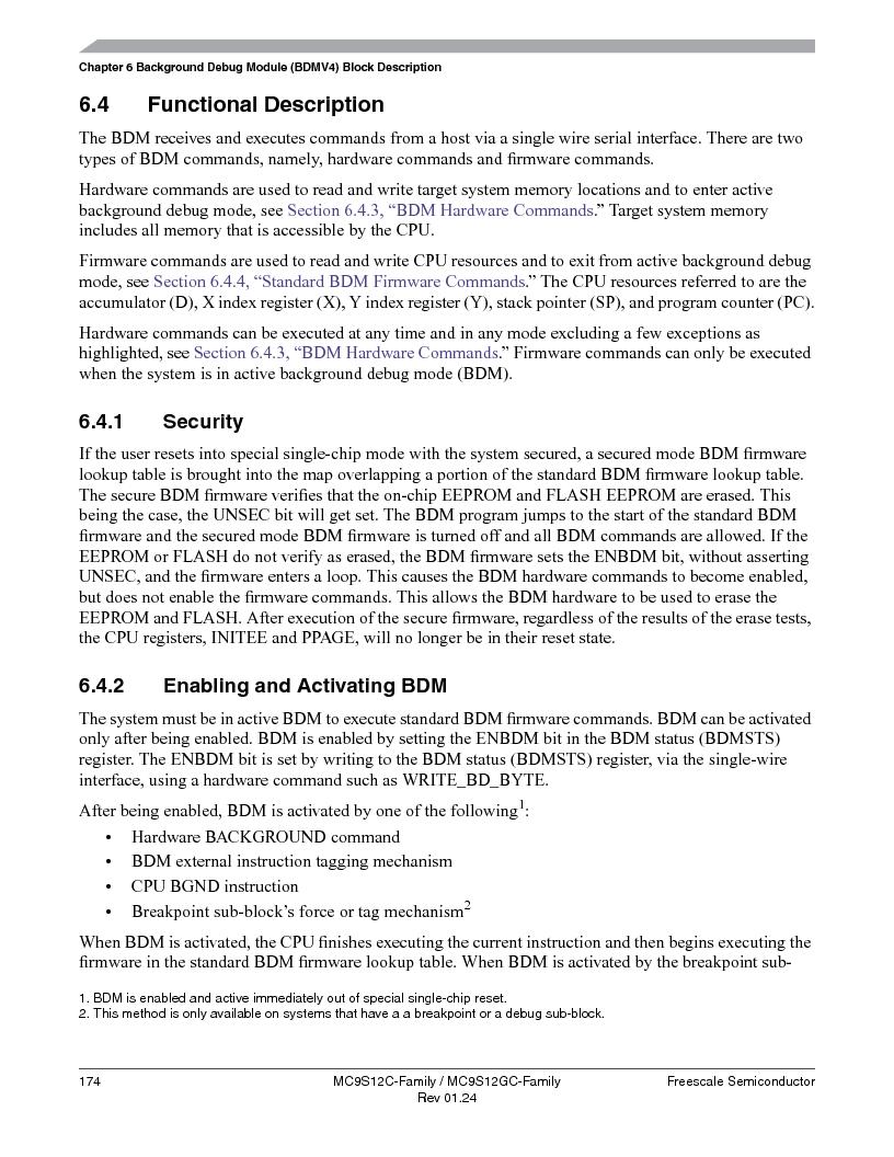 MC9S12GC96VFUE ,Freescale Semiconductor厂商,IC MCU 96K FLASH 25MHZ 80-QFP, MC9S12GC96VFUE datasheet预览  第174页