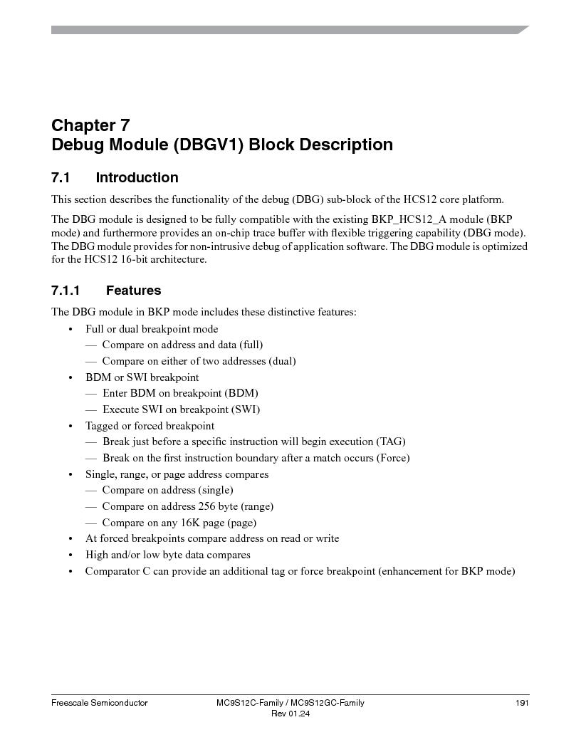 MC9S12GC96VFUE ,Freescale Semiconductor厂商,IC MCU 96K FLASH 25MHZ 80-QFP, MC9S12GC96VFUE datasheet预览  第191页