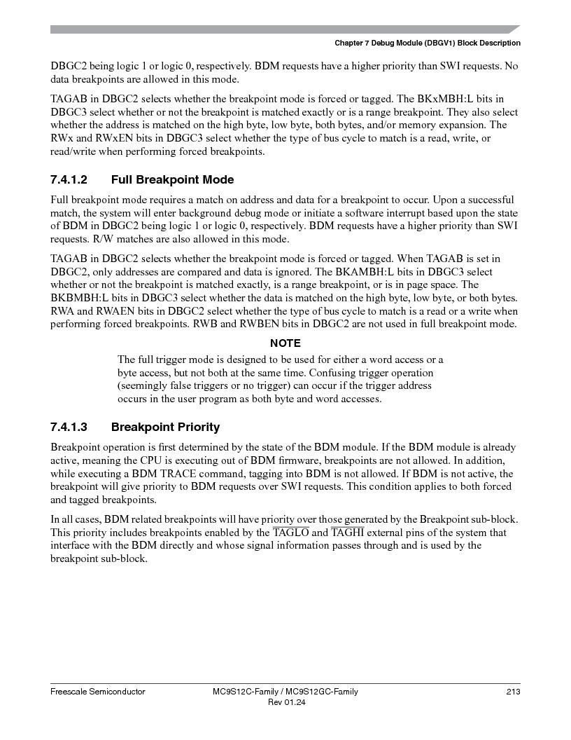 MC9S12GC96VFUE ,Freescale Semiconductor厂商,IC MCU 96K FLASH 25MHZ 80-QFP, MC9S12GC96VFUE datasheet预览  第213页