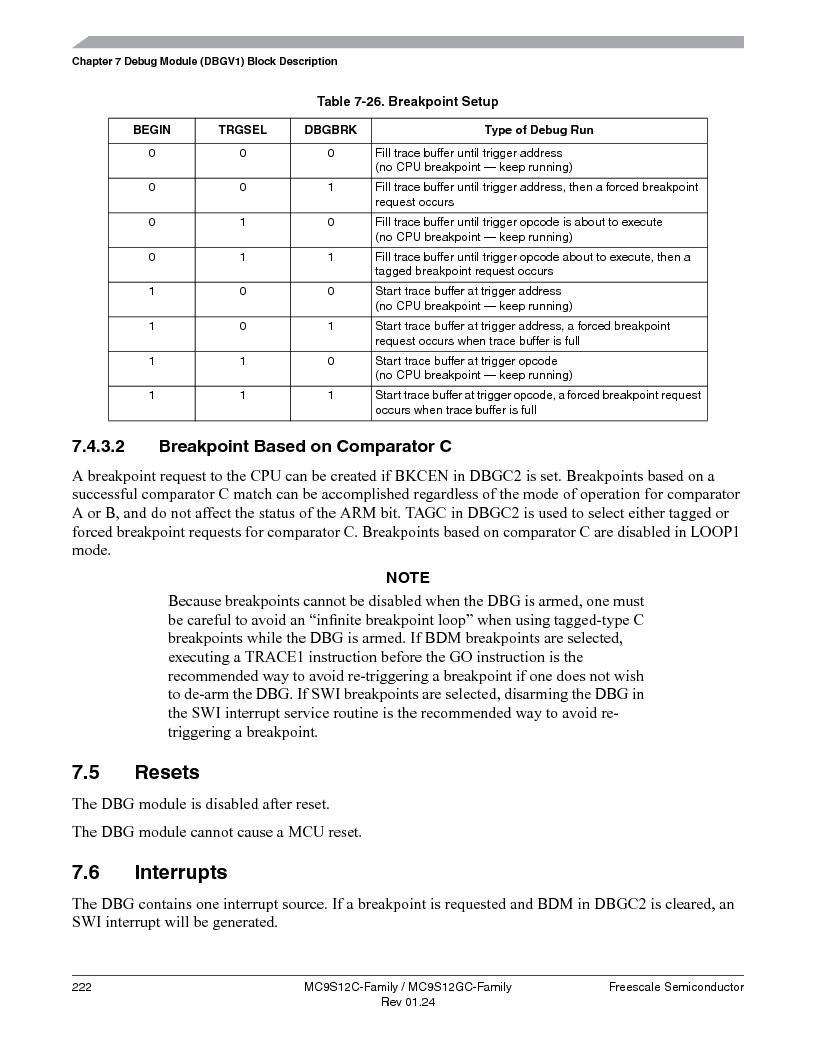 MC9S12GC96VFUE ,Freescale Semiconductor厂商,IC MCU 96K FLASH 25MHZ 80-QFP, MC9S12GC96VFUE datasheet预览  第222页