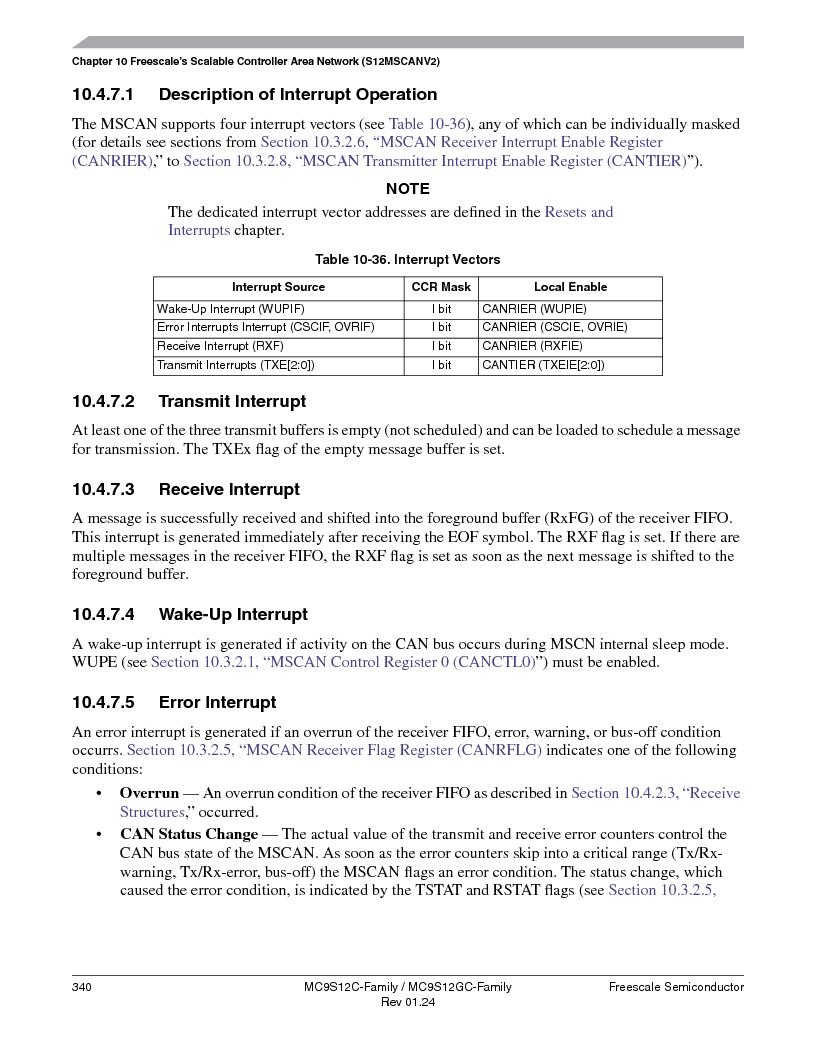 MC9S12GC96VFUE ,Freescale Semiconductor厂商,IC MCU 96K FLASH 25MHZ 80-QFP, MC9S12GC96VFUE datasheet预览  第340页