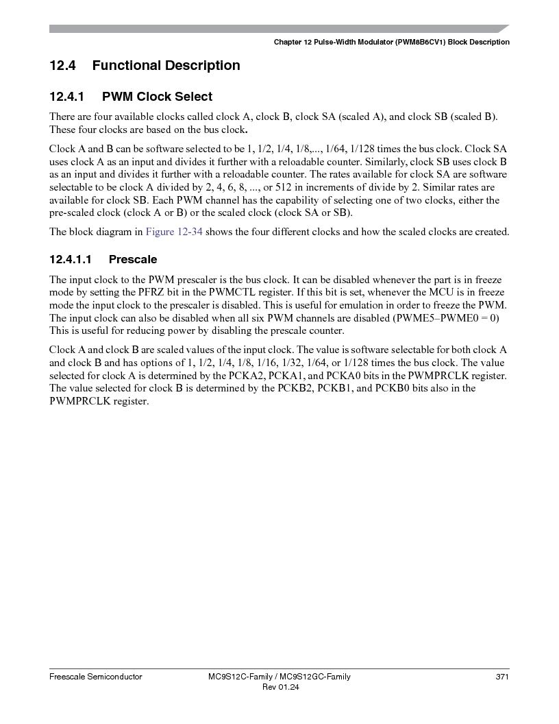 MC9S12GC96VFUE ,Freescale Semiconductor厂商,IC MCU 96K FLASH 25MHZ 80-QFP, MC9S12GC96VFUE datasheet预览  第371页