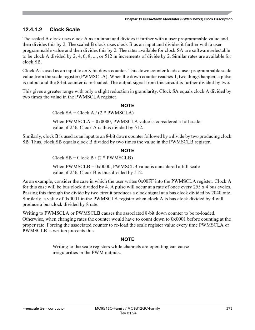 MC9S12GC96VFUE ,Freescale Semiconductor厂商,IC MCU 96K FLASH 25MHZ 80-QFP, MC9S12GC96VFUE datasheet预览  第373页