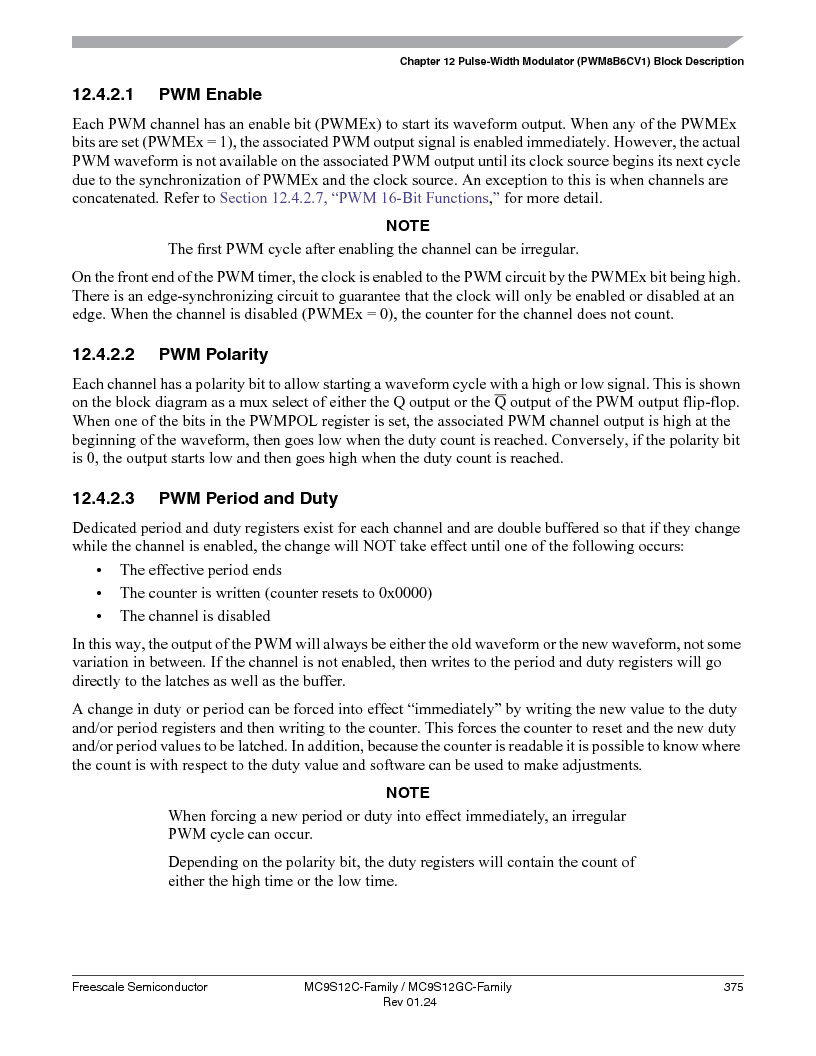 MC9S12GC96VFUE ,Freescale Semiconductor厂商,IC MCU 96K FLASH 25MHZ 80-QFP, MC9S12GC96VFUE datasheet预览  第375页