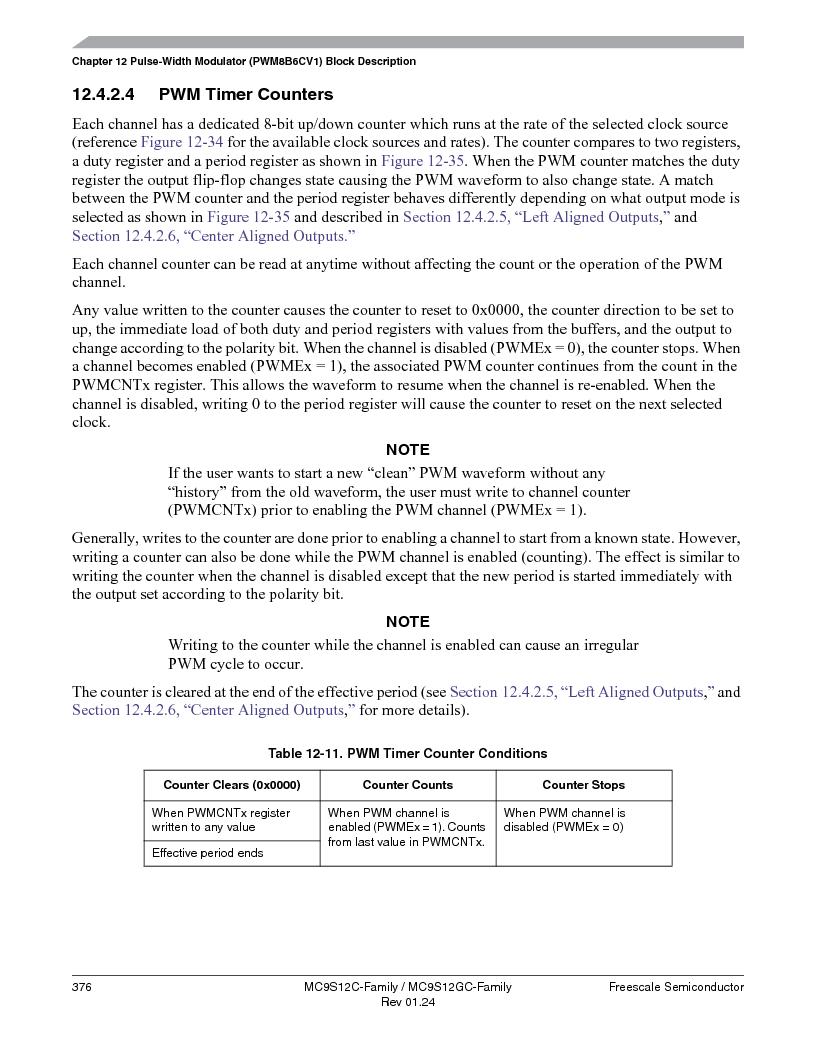 MC9S12GC96VFUE ,Freescale Semiconductor厂商,IC MCU 96K FLASH 25MHZ 80-QFP, MC9S12GC96VFUE datasheet预览  第376页