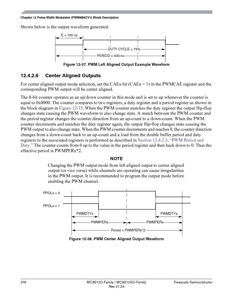 MC9S12GC96VFUE ,Freescale Semiconductor厂商,IC MCU 96K FLASH 25MHZ 80-QFP, MC9S12GC96VFUE datasheet预览  第378页
