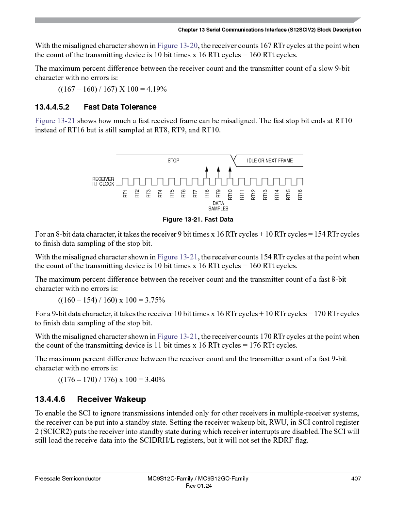 MC9S12GC96VFUE ,Freescale Semiconductor厂商,IC MCU 96K FLASH 25MHZ 80-QFP, MC9S12GC96VFUE datasheet预览  第407页