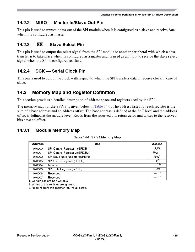 MC9S12GC96VFUE ,Freescale Semiconductor厂商,IC MCU 96K FLASH 25MHZ 80-QFP, MC9S12GC96VFUE datasheet预览  第415页