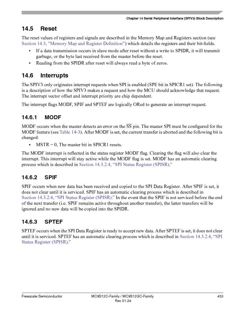 MC9S12GC96VFUE ,Freescale Semiconductor厂商,IC MCU 96K FLASH 25MHZ 80-QFP, MC9S12GC96VFUE datasheet预览  第433页