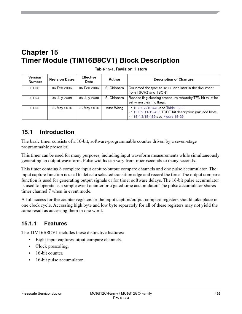 MC9S12GC96VFUE ,Freescale Semiconductor厂商,IC MCU 96K FLASH 25MHZ 80-QFP, MC9S12GC96VFUE datasheet预览  第435页