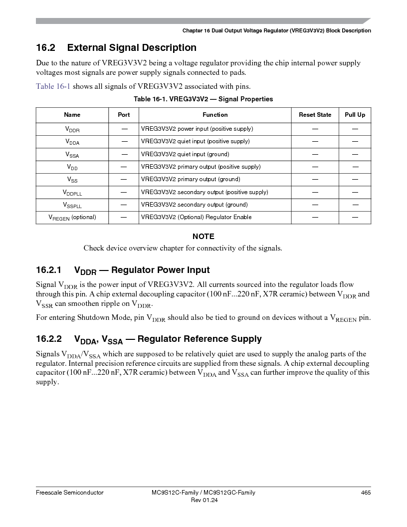 MC9S12GC96VFUE ,Freescale Semiconductor厂商,IC MCU 96K FLASH 25MHZ 80-QFP, MC9S12GC96VFUE datasheet预览  第465页