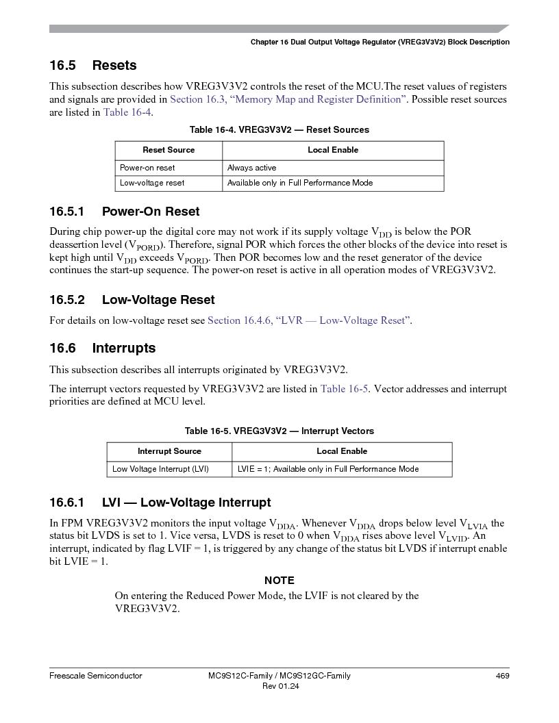 MC9S12GC96VFUE ,Freescale Semiconductor厂商,IC MCU 96K FLASH 25MHZ 80-QFP, MC9S12GC96VFUE datasheet预览  第469页