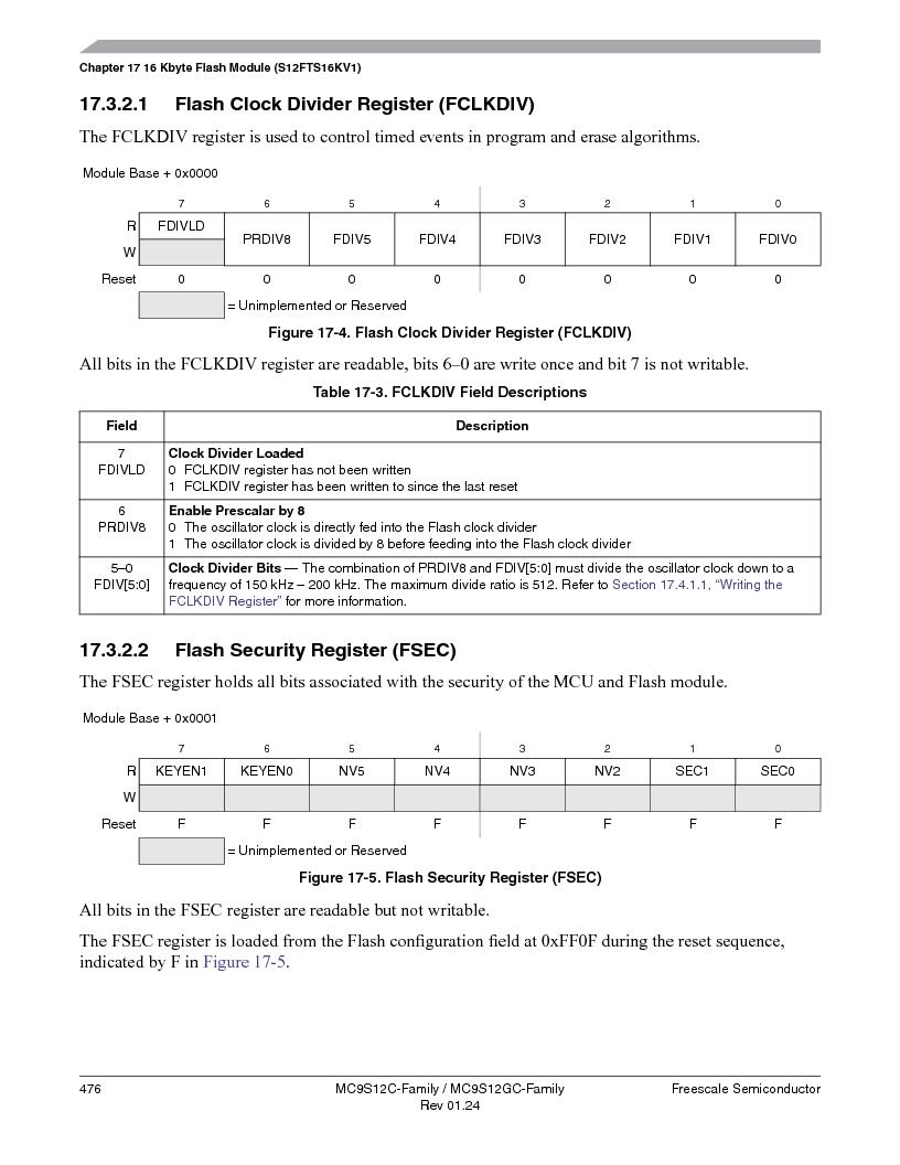MC9S12GC96VFUE ,Freescale Semiconductor厂商,IC MCU 96K FLASH 25MHZ 80-QFP, MC9S12GC96VFUE datasheet预览  第476页