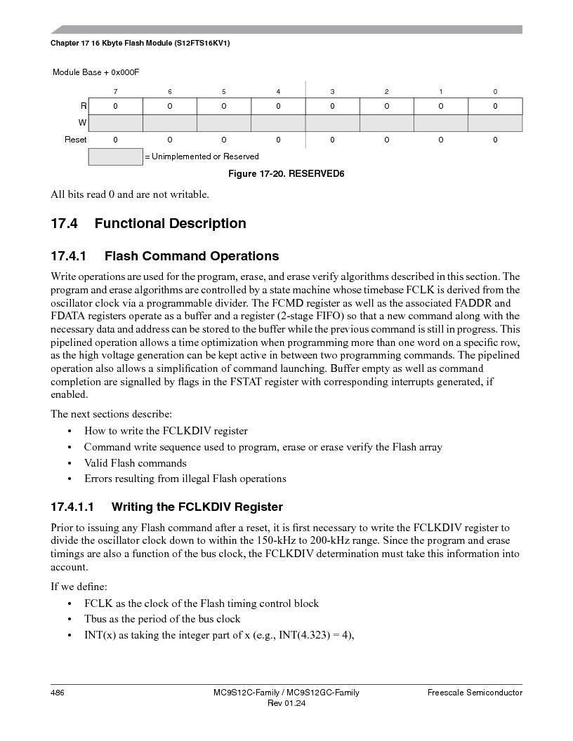 MC9S12GC96VFUE ,Freescale Semiconductor厂商,IC MCU 96K FLASH 25MHZ 80-QFP, MC9S12GC96VFUE datasheet预览  第486页