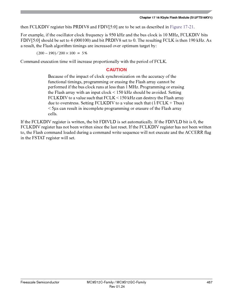 MC9S12GC96VFUE ,Freescale Semiconductor厂商,IC MCU 96K FLASH 25MHZ 80-QFP, MC9S12GC96VFUE datasheet预览  第487页