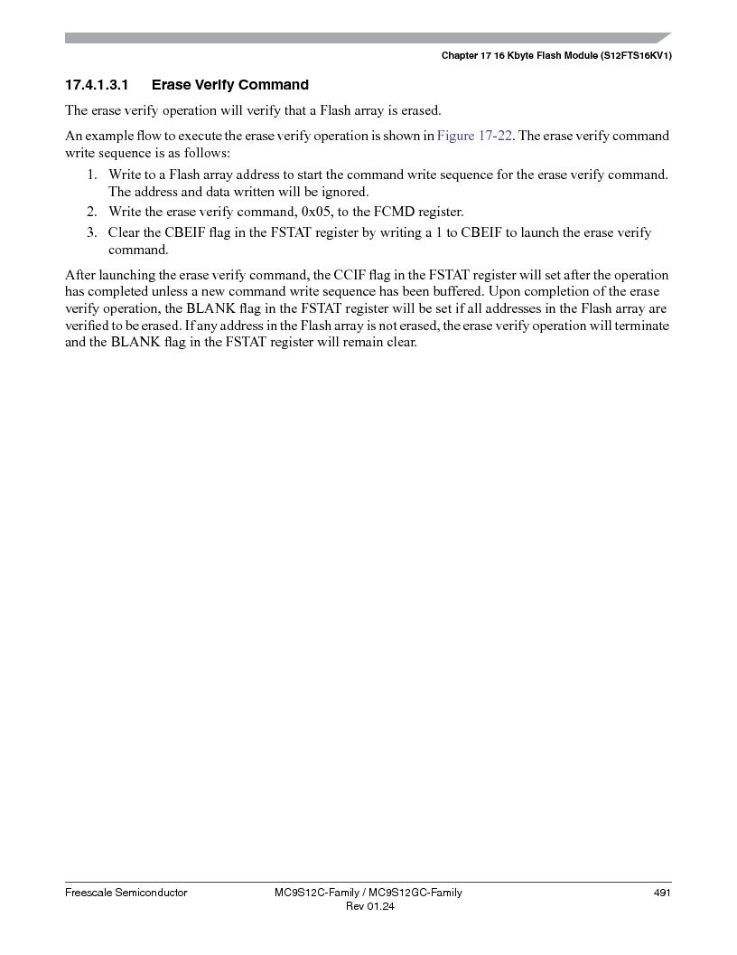 MC9S12GC96VFUE ,Freescale Semiconductor厂商,IC MCU 96K FLASH 25MHZ 80-QFP, MC9S12GC96VFUE datasheet预览  第491页