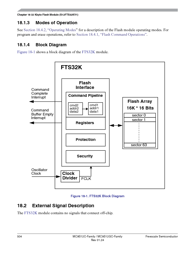 MC9S12GC96VFUE ,Freescale Semiconductor厂商,IC MCU 96K FLASH 25MHZ 80-QFP, MC9S12GC96VFUE datasheet预览  第504页