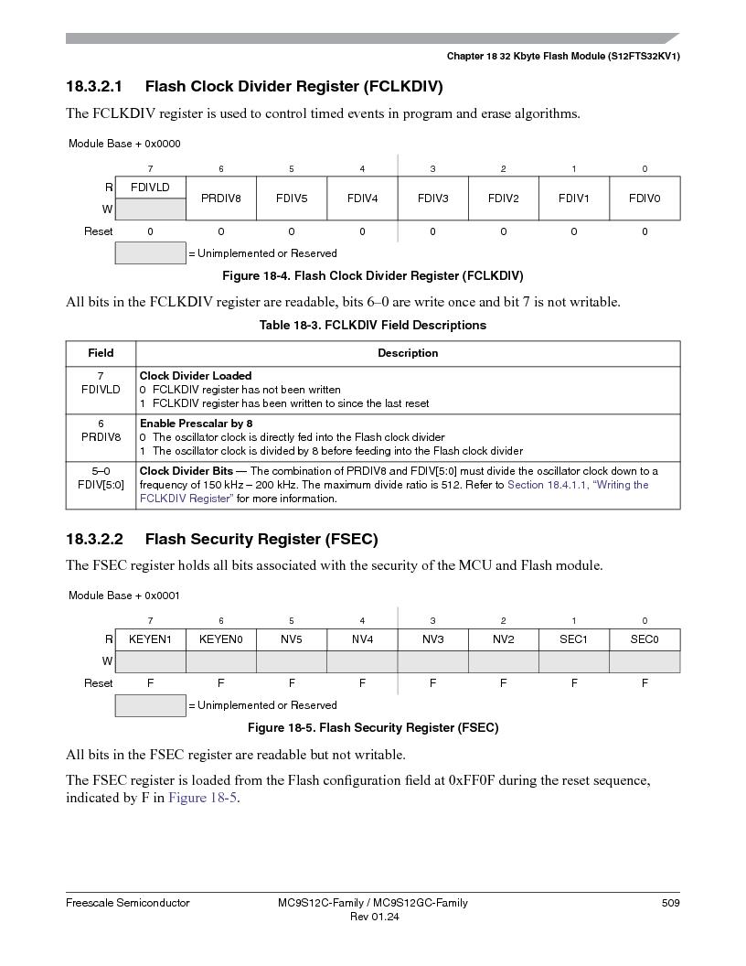 MC9S12GC96VFUE ,Freescale Semiconductor厂商,IC MCU 96K FLASH 25MHZ 80-QFP, MC9S12GC96VFUE datasheet预览  第509页