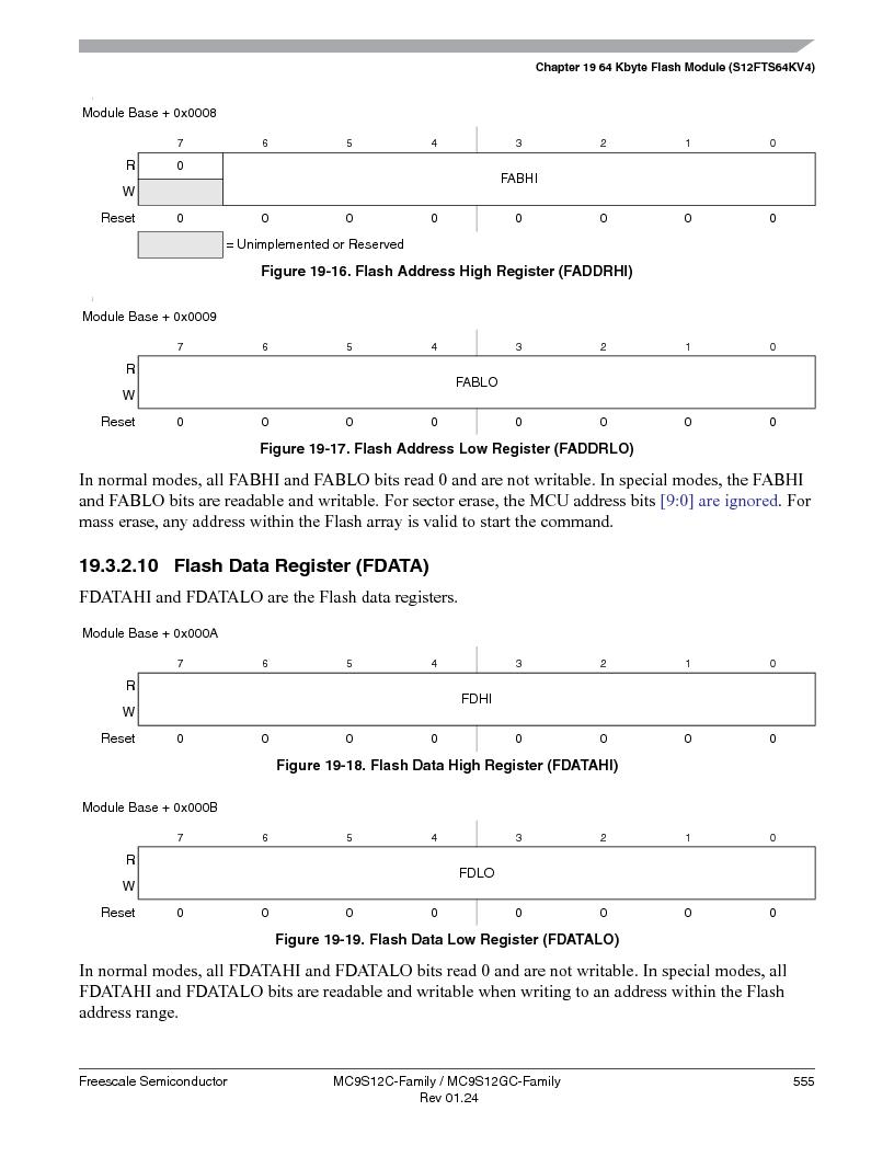MC9S12GC96VFUE ,Freescale Semiconductor厂商,IC MCU 96K FLASH 25MHZ 80-QFP, MC9S12GC96VFUE datasheet预览  第555页