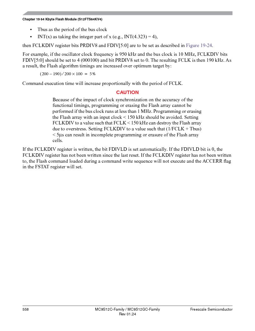 MC9S12GC96VFUE ,Freescale Semiconductor厂商,IC MCU 96K FLASH 25MHZ 80-QFP, MC9S12GC96VFUE datasheet预览  第558页