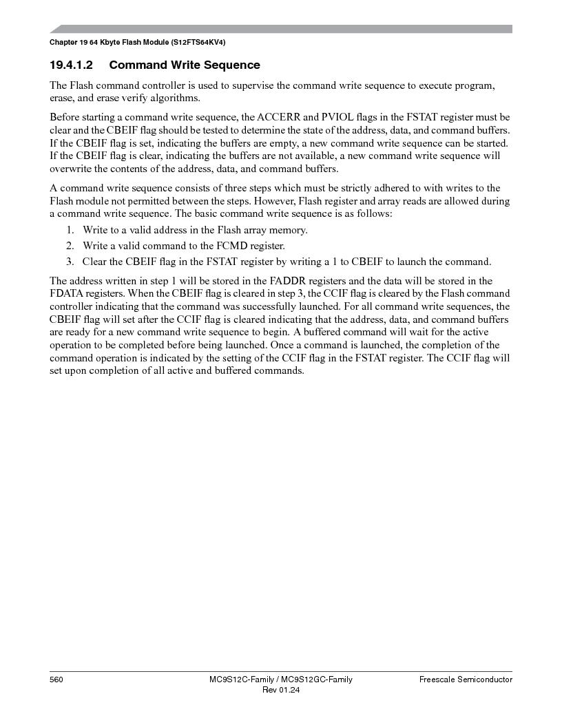 MC9S12GC96VFUE ,Freescale Semiconductor厂商,IC MCU 96K FLASH 25MHZ 80-QFP, MC9S12GC96VFUE datasheet预览  第560页